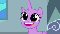 Size: 1278x719 | Tagged: base, faic, pony, pudding face, safe, solo, sparkle's seven, spoiler:s09e04