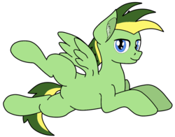 Size: 999x783 | Tagged: alternate version, artist:didgereethebrony, artist:zeka10000, base used, ear fluff, featureless crotch, looking at you, oc, oc:didgeree, pegasus, pony, safe, solo, spreading, spread legs