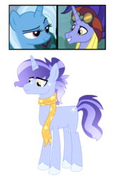 Size: 479x738 | Tagged: artist:firiju-fabulous, female, hoo'far, male, oc, offspring, parent:hoo'far, parents:trixfar, parent:trixie, safe, shipping, straight, trixfar, trixie