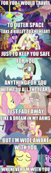 Size: 735x2478 | Tagged: alicorn, applejack, comic, discord, discordant harmony, discoshy, edit, edited screencap, fading, female, fluttershy, king sombra, lyrics, make new friends but keep discord, male, rainbow dash, rarity, safe, screencap, screencap comic, shipping, sick, spoiler:s09e01, spoiler:s09e02, straight, text, the beginning of the end, the discord zone, three's a crowd, to where and back again, transparent, twilight sparkle, twilight sparkle (alicorn), tyler shaw, with you