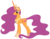 Size: 1920x1502 | Tagged: safe, princess celestia, scootaloo, alicorn, alicornified, fusion, older, older scootaloo, palette swap, race swap, recolor, scootacorn, solo, vector