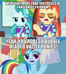 Size: 600x674 | Tagged: 2 4 6 greaaat, edit, edited screencap, lighthoof, op is a duck, op is trying to start shit, rainbow dash, safe, screencap, shimmy shake, spoiler:s09e15