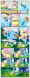 Size: 612x1552 | Tagged: angry, annoyed, applejack, artist:newbiespud, background pony, banner, berry punch, berryshine, bon bon, bondage, carrot top, comic, comic:friendship is dragons, dialogue, dragon, earth pony, edited screencap, eyes closed, fall weather friends, female, golden harvest, hat, hot air balloon, linky, looking down, lyra heartstrings, male, mare, multeity, on back, pegasus, pinkie pie, pony, rainbow dash, rearing, rope, rope bondage, running of the leaves, safe, screencap, screencap comic, shoeshine, smiling, spike, sweetie drops, twilight sparkle, unicorn, unicorn twilight, yay