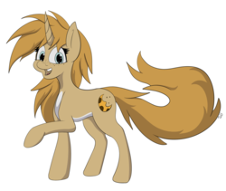 Size: 2196x1854   Tagged: safe, artist:miaowwww, oc, oc only, oc:sugarcookie, pony, pale belly, simple background, solo, transparent background