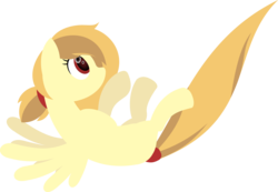 Size: 3383x2343 | Tagged: artist:zacatron94, female, lineless, mare, oc, oc:alice goldenfeather, oc only, pegasus, pony, safe, simple background, solo, transparent background