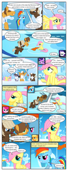 Size: 612x1553 | Tagged: applejack, artist:newbiespud, blank flank, clothes, cloud, cloudsdale, colt, comic, comic:friendship is dragons, dialogue, dumbbell, earth pony, edit, edited screencap, female, filly, filly applejack, filly fluttershy, filly pinkie pie, filly rainbow dash, filly rarity, filly twilight sparkle, flag, floppy ears, fluttershy, flying, foal, grin, gritted teeth, hair over one eye, hat, hoops, hooves, looking up, male, mane six, mare, on a cloud, open mouth, pegasus, pinkie pie, pony, prone, quarterback, rainbow dash, rarity, sad, safe, screencap, screencap comic, shadow, sitting, smiling, sonic rainboom (episode), spread wings, stallion, standing, twilight sparkle, unamused, unicorn, unicorn twilight, wide eyes, wings, younger
