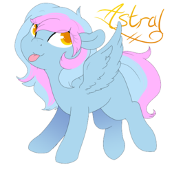 Size: 540x540   Tagged: safe, artist:ruedle, oc, oc:astral knight, pegasus, pony, female, filly, simple background, solo, transparent background
