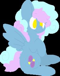Size: 758x957   Tagged: safe, artist:moonydusk, oc, oc:astral knight, pegasus, pony, female, simple background, sitting, solo, transparent background