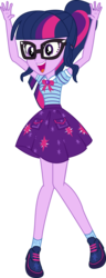 Size: 1585x4129   Tagged: safe, artist:marcorulezzz, sci-twi, twilight sparkle, do it for the ponygram!, equestria girls, equestria girls series, spoiler:eqg series (season 2), female, geode of telekinesis, legs, magical geodes, simple background, solo, transparent background