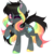 Size: 5000x5000   Tagged: safe, artist:pidge--podge, oc, earth pony, pony, absurd resolution, female, mare, one eye closed, pale belly, simple background, snip (coat marking), socks (coat marking), solo, tongue out, transparent background, wink