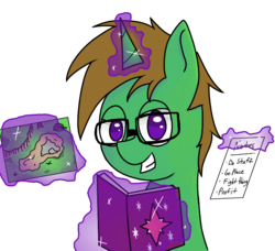 Size: 824x750 | Tagged: safe, artist:wuzntme808, oc, oc only, oc:zester, pony, unicorn, dungeon master, dungeons and dragons, male, pen and paper rpg, rpg, simple background, solo, stallion, transparent background