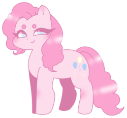 Size: 927x862 | Tagged: artist:cutecarrots, beanbrows, cute, diapinkes, earth pony, eyebrows, female, heart eyes, mare, no pupils, pinkie pie, pony, safe, simple background, solo, transparent background, wingding eyes
