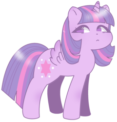 Size: 876x913 | Tagged: safe, artist:cutecarrots, twilight sparkle, alicorn, pony, cute, female, mare, no pupils, simple background, solo, transparent background, twiabetes, twilight sparkle (alicorn)