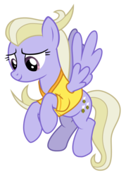Size: 2108x2946 | Tagged: artist:sonofaskywalker, clothes, common ground, las pegasus resident, pegasus, pony, safe, simple background, solo, spoiler:s09e06, sweet buzz, transparent background, uniform, vector