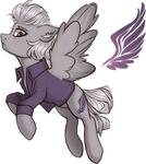 Size: 828x930 | Tagged: safe, artist:enigmasdegree, oc, pegasus, pony, solo