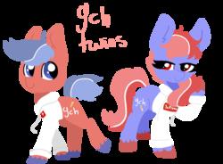 Size: 1284x944 | Tagged: safe, artist:nootaz, oc, pony, twins