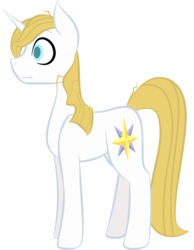 Size: 3872x5000 | Tagged: artist:kids-in-the-corner, derpibooru exclusive, male, pony, prince blueblood, safe, shocked, simple background, solo, stallion, surprised, unicorn