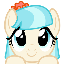 Size: 2400x2400 | Tagged: safe, artist:cheezedoodle96, coco pommel, earth pony, pony, .svg available, boop bait, bust, close-up, cocobetes, cute, female, hooves on the table, looking at you, mare, part of a set, peekaboo, peeking, portrait, simple background, solo, svg, this will end in boops, this will end in cuddles, this will end in kisses, this will end in snuggles, transparent background, vector, wide eyes