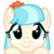 Size: 2400x2400 | Tagged: artist:cheezedoodle96, close-up, cocobetes, coco pommel, cute, earth pony, female, hooves on the table, looking at you, mare, peekaboo, peeking, pony, safe, simple background, solo, svg, .svg available, transparent background, vector, wide eyes