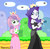Size: 2056x2032 | Tagged: safe, artist:tabrony23, rarity, sweetie belle, equestria girls, bare shoulders, bowsette, clothes, cosplay, costume, crossover, crown, cute, diasweetes, dress, duo, egg, female, jewelry, mario, princess peach, raribetes, regalia, siblings, sisters, sleeveless, smiling, strapless, super mario bros.