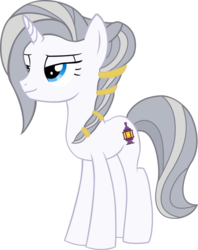 Size: 752x950 | Tagged: artist:warszak, elegant, female, mare, oc, oc:evestar, parent:evenlight, safe, simple background, solo, tall, transparent background, unicorn, vector