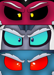Size: 1224x1687 | Tagged: antagonist, artist:alexeigribanov, close-up, closeup on the face, extreme close up, eye, eyebrows, eyes, grogar, lord tirek, my little pony: the movie, safe, storm king