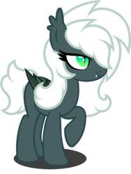 Size: 1280x1706 | Tagged: artist:fletcherthehuntress, bat pony, female, mare, oc, oc:midnight prancer, pony, safe, simple background, solo, transparent background
