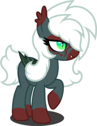 Size: 1280x1660 | Tagged: artist:fletcherthehuntress, bat pony, face paint, female, mare, oc, oc:midnight prancer, pony, safe, simple background, solo, transparent background