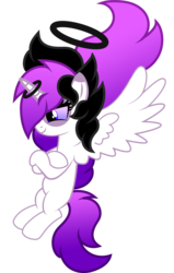 Size: 1280x2011 | Tagged: alicorn, artist:fletcherthehuntress, female, halo, mare, oc, oc:almessea wishcrusher, pony, safe, simple background, solo, transparent background, vector