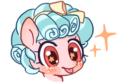 Size: 380x260 | Tagged: artist:cpid, cozybetes, cozy glow, cropped, cute, female, filly, safe, solo, starry eyes, wingding eyes