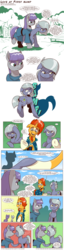 Size: 1389x5400 | Tagged: artist:saturdaymorningproj, comic, digital art, earth pony, female, glasses, limeburst, limestone pie, male, mare, maud pie, pony, safe, shipping, siblings, sisters, straight, sunburst, unicorn