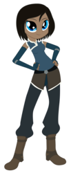 Size: 2394x5791   Tagged: safe, artist:lhenao, artist:salmence6464, equestria girls, avatar, barely eqg related, base used, crossover, equestria girls-ified, korra, solo, the legend of korra