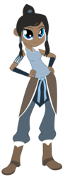 Size: 2242x6063   Tagged: safe, artist:lhenao, artist:salmence6464, equestria girls, avatar, barely eqg related, base used, crossover, equestria girls-ified, korra, solo, the legend of korra
