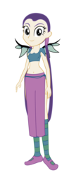 Size: 1415x3375 | Tagged: artist:invisibleink, artist:lhenao, barely eqg related, base used, belly button, crossover, equestria girls, equestria girls-ified, hay lin, safe, simple background, transparent background, w.i.t.c.h.