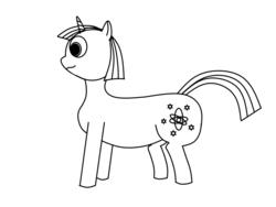 Size: 800x600 | Tagged: safe, artist:ruslan nasretdinov, oc, oc only, oc:heckfy improver, pony, unicorn, male, monochrome, simple background, solo, unicorn oc