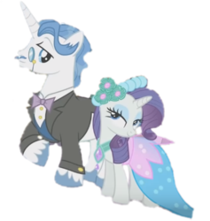 Size: 432x456   Tagged: safe, artist:funimation2002, edit, edited screencap, screencap, fancypants, rarity, pony, a canterlot wedding, background removed, female, male, raripants, shipping, simple background, straight, transparent background
