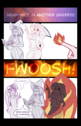 Size: 828x1280 | Tagged: artist:7los7, equestria girls, midnightsatan, midnight sparkle, safe, sci-twi, sketch, sunset satan, sunset shimmer, twilight sparkle