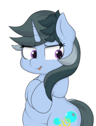 Size: 2000x2610 | Tagged: safe, artist:blitzyflair, oc, oc only, oc:blitzy flair, pony, unicorn, bipedal, curvy, female, mare, simple background, solo, tongue out, transparent background, wide hips