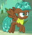 Size: 659x709 | Tagged: safe, screencap, spur, pegasus, pony, growing up is hard to do, spoiler:s09e22, bandana, cropped, female, flying, frown, ringlets, solo, teenager