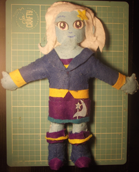 Size: 1200x1486 | Tagged: artist:grapefruitface1, arts and crafts, clothes, custom, doll, equestria girls, felt, irl, photo, plushie, safe, solo, toy, trixie