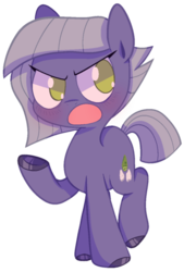 Size: 500x738 | Tagged: artist:pinkiespresent, colored hooves, cute, earth pony, female, limabetes, limestone pie, mare, no pupils, open mouth, pony, safe, simple background, solo, transparent background