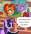 Size: 800x892 | Tagged: safe, artist:wedgeantilleshzdgj, edit, edited screencap, screencap, firelight, luster dawn, stellar flare, twilight sparkle, pony, unicorn, the last problem, the parent map, and that's how luster dawn was made, bedroom eyes, blush sticker, blushing, book, comic, cute, fan theory, female, headcanon, male, mare, meme, shipping, speculation, stallion, starry eyes, stellarlight, straight, text, theory, twiabetes, unicorn twilight, what a twist, wingding eyes