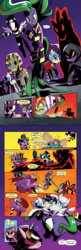 Size: 650x2000 | Tagged: beret, clothes, comic, comic:friendship is dragons, costume, crying, dialogue, earth pony, edit, evil grin, female, fight, fili-second, flying, glowing eyes, goggles, grin, hat, high heel, hoof hold, humdrum, idw, implied applejack, implied fluttershy, implied mane six, implied pinkie pie, implied rainbow dash, implied rarity, implied twilight sparkle, long face, looking down, looking up, male, mane-iac, mare, mask, masked matter-horn, mime, mistress marevelous, mouth hold, mummy, pegasus, pharaoh phetlock, ponies riding ponies, pony, power ponies, radiance, sad, saddle rager, safe, scared, shadowmane, smiling, smudge (character), spoiler:comic, spoiler:comicannual2014, stallion, text edit, unicorn, vial, zapp