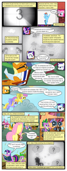 Size: 612x1552 | Tagged: applejack, arm behind back, artist:newbiespud, background pony, beach chair, bon bon, book, carrot top, cloud, cloud kicker, comic, comic:friendship is dragons, dialogue, earth pony, edited screencap, eyes closed, female, film reel, fluttershy, flying, glasses, glowing horn, golden harvest, grin, horn, hurricane fluttershy, magic, male, mane seven, mane six, mare, parasol, pegasus, pinkie pie, pony, projector, pushing, rainbow dash, rarity, safe, screencap, screencap comic, seafoam, sea swirl, sitting, slit eyes, smiling, spike, sun, sweetie drops, tanning, tanning mirror, telekinesis, twilight sparkle, unicorn, unicorn twilight