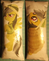 Size: 1200x1486 | Tagged: safe, artist:grapefruitface1, artist:the smiling pony, artist:timelordomega, daring do, pegasus, pony, bikini, clothes, defictionalization, irl, paper dakimakura, paper plush, paper plushie, photo, solo, swimsuit