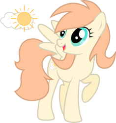 Size: 5000x5286 | Tagged: safe, artist:northernthestar, oc, oc:sunny sky, pegasus, pony, absurd resolution, female, mare, simple background, solo, transparent background