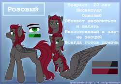 Size: 3600x2500 | Tagged: safe, artist:nika-rain, oc, pegasus, pony, commission, reference, reference sheet, simple background, solo