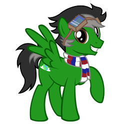 Size: 2000x2000 | Tagged: safe, artist:stellardust, derpibooru exclusive, oc, oc only, oc:trip away, pegasus, pony, 2020 community collab, derpibooru community collaboration, clothes, goggles, looking at you, male, scarf, simple background, solo, stallion, transparent background