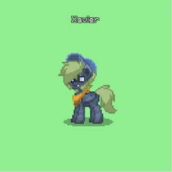 Size: 500x500 | Tagged: safe, oc, oc only, bat pony, pony, pony town, solo