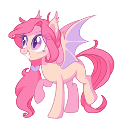 Size: 943x1000 | Tagged: safe, artist:p-kicreations, oc, bat pony, pony, base used, cute, female, mare, simple background, solo, transparent background